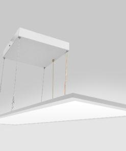 Karmøy kontor pendelarmatur, opp/nedlys, dimbar med dimmesnor