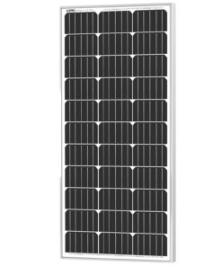 100W Monocrystalline 12V solcellepanel